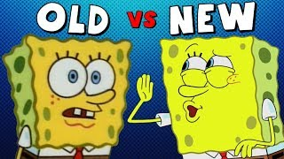 Old Spongebob vs. New Spongebob