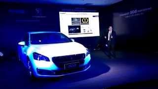 Thaco ra mắt Peugeot 508 phiên bản mới 2015