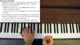 Jazz Piano Tutorial - Harmonic Rhythm