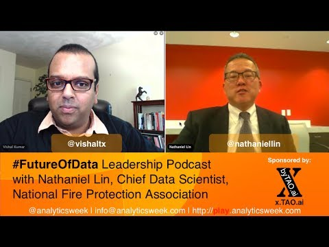 #BigData @AnalyticsWeek #FutureOfData #Podcast with Nathaniel Lin (@analytics123), @NFPA