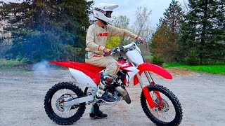 2019 CR125 2 STROKE FIRST RIDE