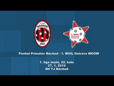1. liga mužů, Náchod - MVIL Ostrava