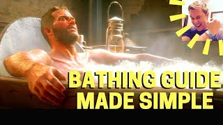 Red Dead Redemption 2: Bathing Guide Made Simple (Horses Included!)