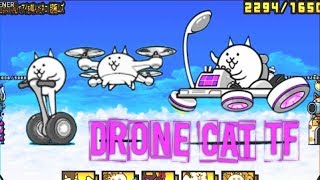 The Battle Cats - New True Form Drone Cat (Ver. 8.3)