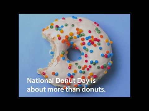 "To celebrate 100 years since the work of the original ""Donut Lassies,"" The Salvation Army asked people to design a donut for a veteran on Snapchat. Designs were submitted from around the world and turned into donuts. The donuts were delivered to veterans being served by The Salvation Army."