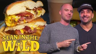 How to Make a Breakfast Burger | Sean in the Wild
