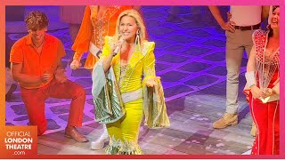 MAMMA MIA! is back in the West End! Opening Night Curtain Call after 529 days