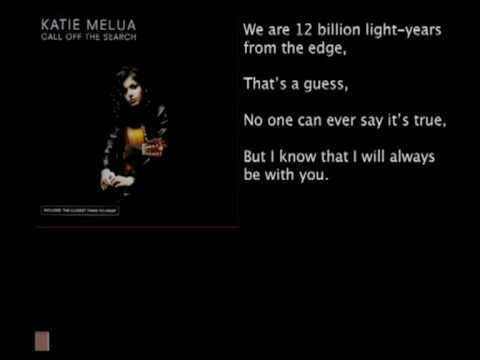 Katie Melua - Nine million bicycles (Katies's bad science)