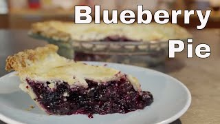 Homemade Blueberry Pie ||  Le Gourmet TV Recipes