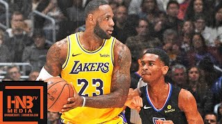 Los Angeles Lakers vs LA Clippers Full Game Highlights | March 4, 2018-19 NBA Season