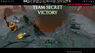 SECRET vs VG - THE BEST FIGHT. Kuala Lumpur Major [Dota 2]