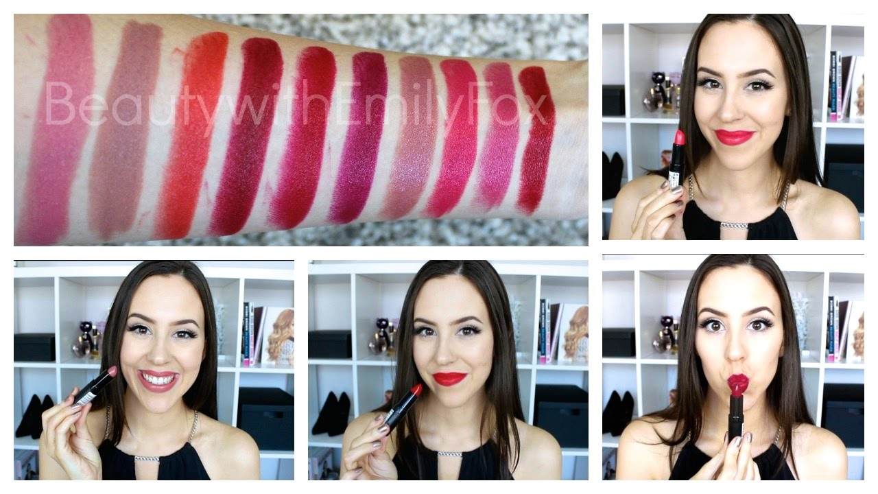 Rimmel Lasting Finish Lipstick by Kate Moss +Lip swatches