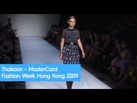 Thakoon - MasterCard Fashion week Hong Kong 2009