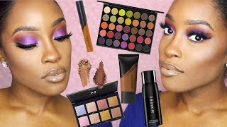 FULL FACE MORPHE | FLUIDITY FULL COVERAGE FOUNDATION & CONCEALER REVIEW F4.80
