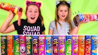 Don't Choose the Wrong Pringles Slime Challenge!!