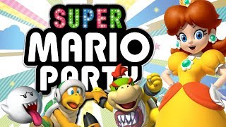 Super Mario Party - MEGAFRUIT PARADISE (4-player Gameplay)