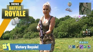Airsoft War: Fortnite Battle Royale in Real Life! | TrueMOBSTER