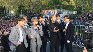 BTS GMA concert takes Central Park by storm