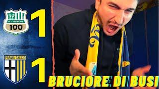 Reazione gol Sassuolo live all'ultimo secondo!! BUSI PERCHÉ???? Sassuolo - Parma 1-1