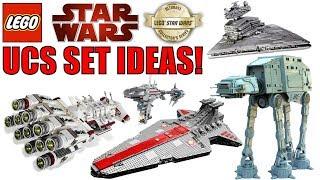 LEGO Star Wars UCS Set Ideas! | UCS Venator, UCS AT-AT, UCS A-WING! (2019/2020 LEGO Star Wars Sets?)