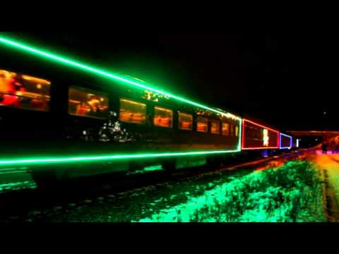The Tractors Santa Claus Is Coming (In a boogie-woogie choo-choo train)