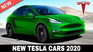 7 New Tesla Cars and Rumors about the Upcoming 2020 Lineup