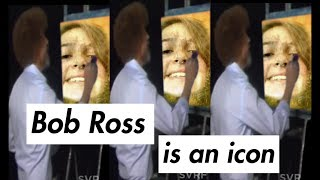 PAINTING WITH BOB ROSS // ft. chats about emma chambie, school, and YouTube
