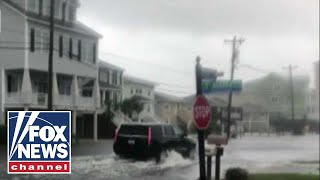 How has Myrtle Beach been impacted by Florence?