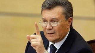 'I'm still president' – Ukraine's Yanukovych vows to fight back
