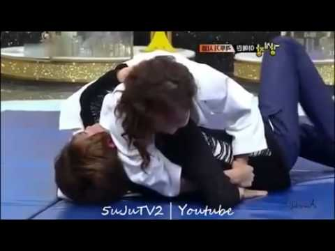 110921 Leeteuk & Eunhyuk - Funny Cuts @ SBS Strong Heart_3