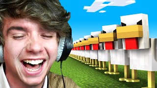 I Got Hunted By 1000 Chickens!
