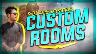 🔴PUBG MOBILE Live Streaming | International Custom Rooms | Pakistan/India | 12Hrs Streaming