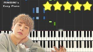 EXO XIUMIN (시우민) -  You (이유) 《MINIBINI EASY PIANO ♪》 ★★★★★