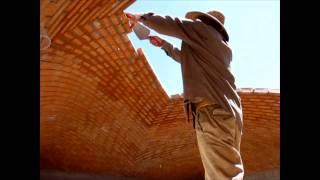 Construcción de una Bóveda Catalana, Albañiles que desafían la gravedad. Tienes que verlo!