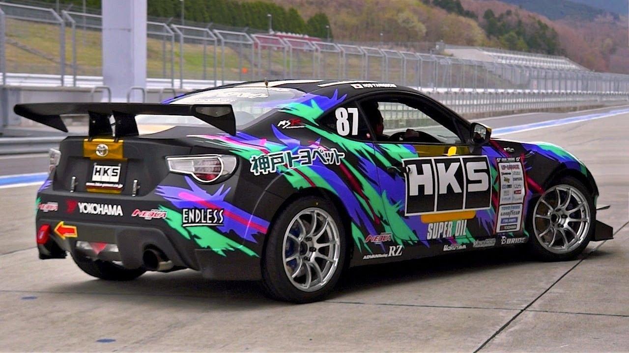 HKS Toyota 86 Drift (FR-S) - YouTube