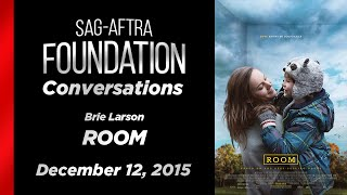 Conversations with Brie Larson of ROOM