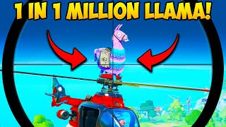 /1 in a million llama spawn fortnite funny fails and wtf moments 865