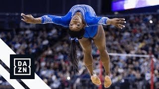 Simone Biles' Epic Floor Routine