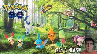 50 GEN III POKEMON RELEASE THIS WEEK!!! WEATHER FEATURES, NEW ITEMS, DELIBIRD MOVES & BATTLE PARTIES