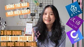 #14// 3 ứng dụng NHẤT ĐỊNH PHẢI CÓ khi học tiếng Trung | Bạn có biết cách dùng hay ho khác?
