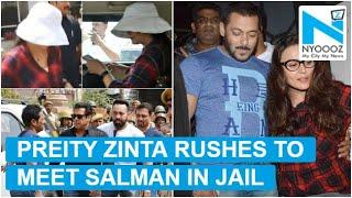 Preity Zinta, Salman sisters reach Jodhpur to visit him ..