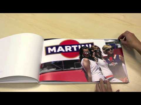 Martini-Coffee Table Book