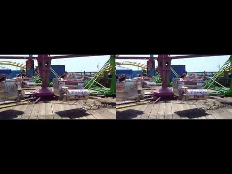 Santa Monica Pier - California - ride - Fuji 3d