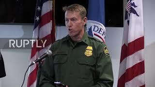 USA: Border Patrol, Army fortify efforts to deter migrant caravan