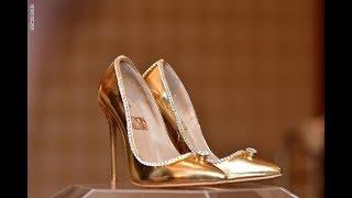دبي تعرض أغلى حذاء للبيع في العالم     -