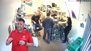 Computer Repairman Bear Sprays Non-Paying Customer