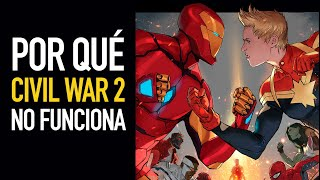¿Por qué Civil War 2 no funciona?