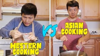 Chinese Cooking VS. Western Cooking