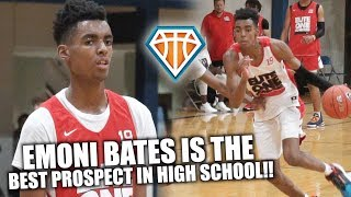IS EMONI BATES THE BEST PROSPECT IN HIGH SCHOOL?! | 'Baby KD' GOES OFF at Nike Elite100