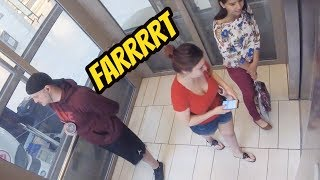 WET Fart Prank In the Elevator!!!